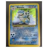 Pokemon Base Set Blastoise Hologram