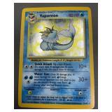 Pokemon Misprint Jungle Vaporeon Hologram