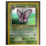 Pokemon Jungle Venomoth Hologram