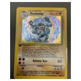 Pokemon Edition 1 Hologram Machamp