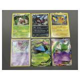 6 Pokemon XY Promos