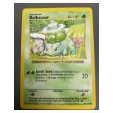 Pokemon Base Set Shadowless Bulbasaur