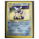 Pokemon Base Set Shadowless Wartotle