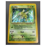 Pokemon Misprint Jungle Scyther Hologram