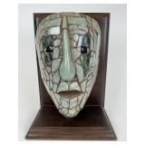 Guatemala Jade Mayan Mask