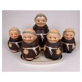 Vintage Goebel Friar lot