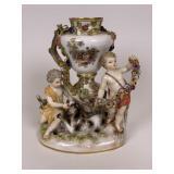 Early Meissen Urn Vase #1009