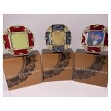 Jay Strongwater Octagonal Mini Frames Lot