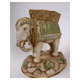 W&R  Austria Porcelain Elephant Figurine
