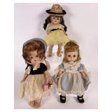3 Vogue Ginny Dolls