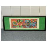 Phish Poster Official Spac 6/19/2010
