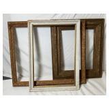 Large Ornate Antique Decorative Frames
