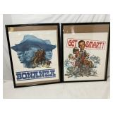 Two Vintage TV Posters