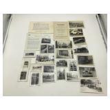 1930s B&W photos of cars