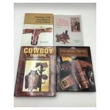 4 cowboy collectibles books