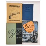 4 Colt gun books