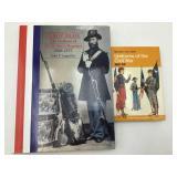 2 books on US military uniforms