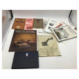 Automotive brochures and magazines