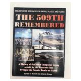 509th Remembered autographed book;