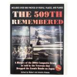 History of the 509th remembered autographed