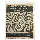 1940 Identification Facilities of FBI