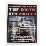 509th remembered Autographed book