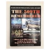 Autographed 509th Composite Bomb Group history
