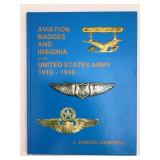 Aviation badges and insignia of us 1913 1946