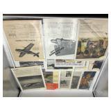 WWII magazine ads