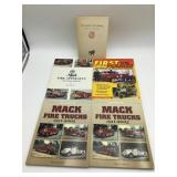 Mack fire trucks books