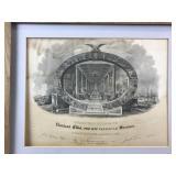 1839 Engraving Exhibition & Fair