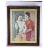 Image of man holding women