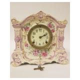 Ansonia Porcelain Mantle Clock
