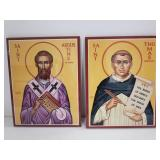 Pair of Monastery Icons, Windows Into Heaven