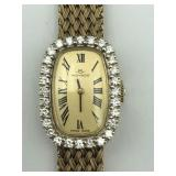 14K Movado Diamond Ladies Watch
