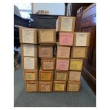 (21) 65 note rewind electric piano rolls