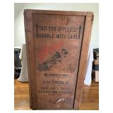 Victrola Shipping Crate