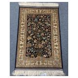Hereke Turkish silk mat