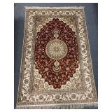 Sipon Turkish silk rug
