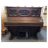 "John Pettit Small ""Piano Cased"" Reed Organ"