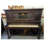 Haines upright Ampico player