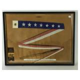 US Navy seven star commission pennant from World