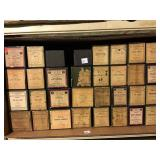 64 Ampico player piano rolls