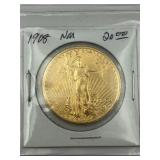 US $20.00 St. Daudens Gold Piece