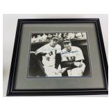 Autographed Photo of Ted Williams & Joe DiMaggio