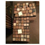 Approximately 180 player piano rolls