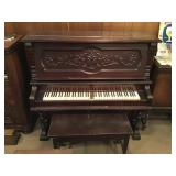 Lawrence-Piano Cased Reed Organ
