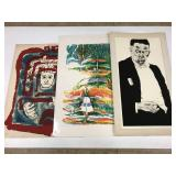 Lot of 3 prints