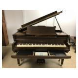 Frances Bacon Welte Mignon Baby Grand Piano