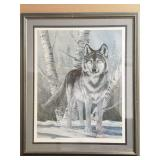 Don Griffiths signed artist print named El Lobo